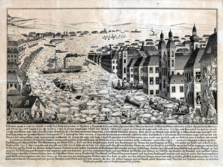 Budapest City.org | The great flood of Pest, 1838th