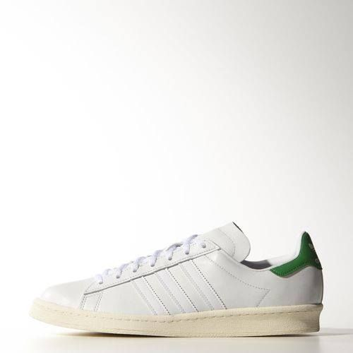 adidas Originals - Campus 80s Nigo Ftwr White / Green / Cream White B33821  Available Instore & Online http://www.streetwear.gr/Ανδρικά-Sneakers/adidas-Originals-Campus-80s-Nigo-B33821.html#.VNNS1yusUfU