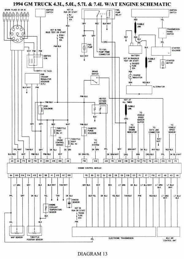 15 93 chevy truck wiring diagram  truck diagram  wiringg