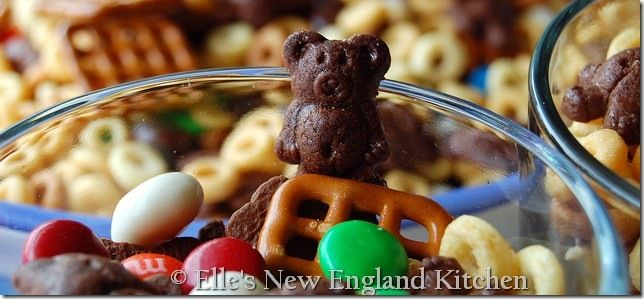 Teddy Graham Trail Mix...definitely making this for the 22 hour car ride for vacation.!!!