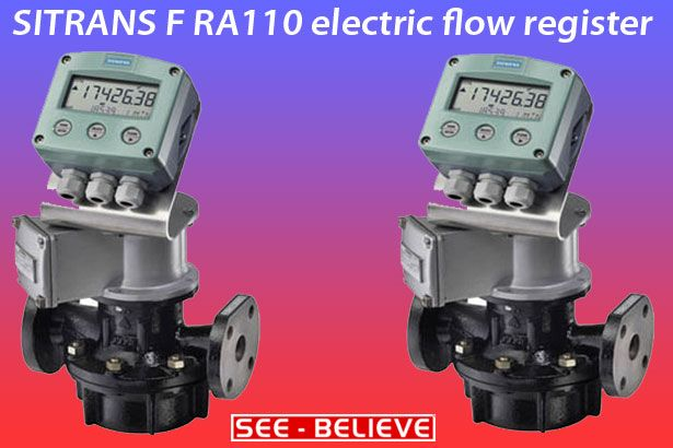 The flow register of the #SITRANS_F_RA110 receives e.g.from a pulser information on the current flow.