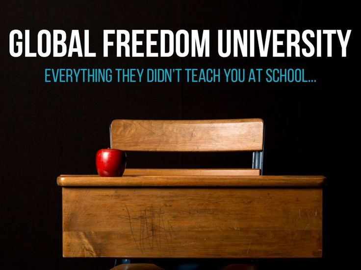 Become a Founder of Global Freedom University - Nexus Newsfeed
