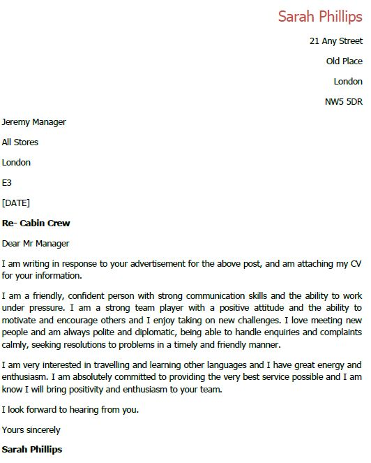 cover letter for cabin crew awesome resume template this