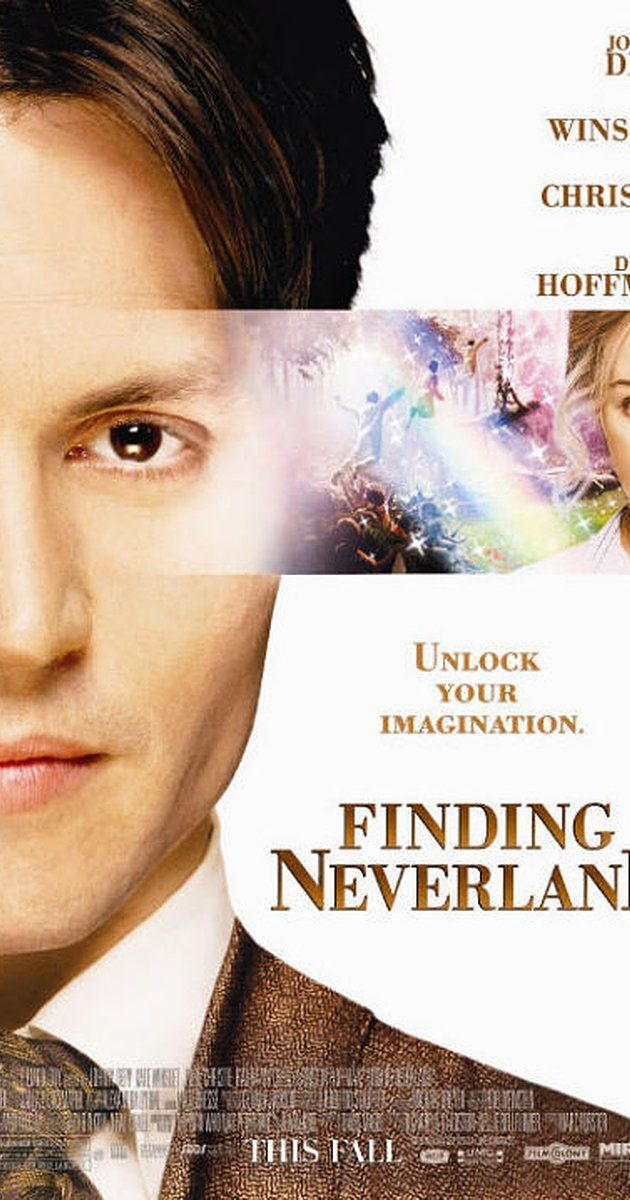 Directed by Marc Forster.  With Johnny Depp, Kate Winslet, Julie Christie, Radha Mitchell. The story of J.M. Barrie's friendship with a family who inspired him to create Peter Pan.