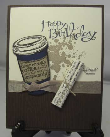 Perfect Blend, Stampin' Up!, details are on my blog today.