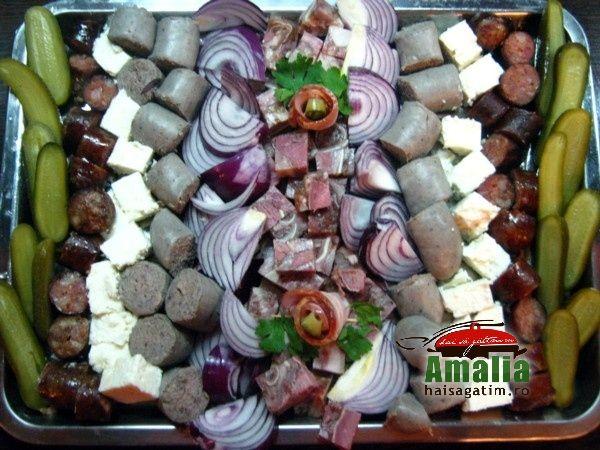 Platou aperitive traditional