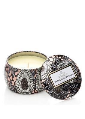 Voluspa Japonica Yashioka Gardenia Petite Tin Candle