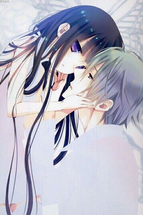 Ririchiyo and Miketsukami, how sweet <33   Anime/Manga = Inu x Boku ss