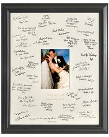 Personalized Laser Engraved Wedding Wishes Signature Frame Groomsmengifts Wedding Weddingfavor Favor