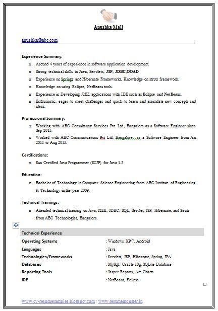 Best Engineer Resume Format Download (Page 1)