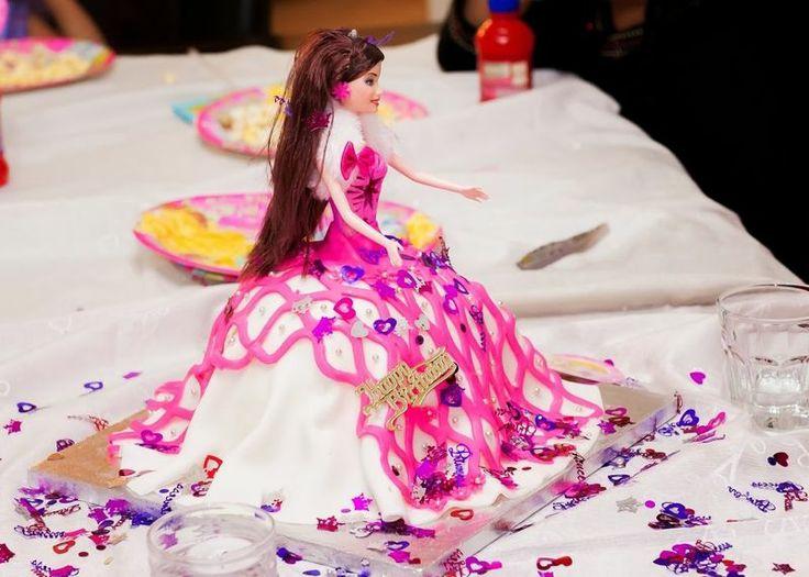 Barbie Chocolate Cake Images : Nutella Chocolate Cake ... Barbie Princess Customized ...