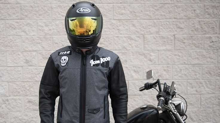 Icon 1000 Vigilante Stickup Motorcycle Jacket