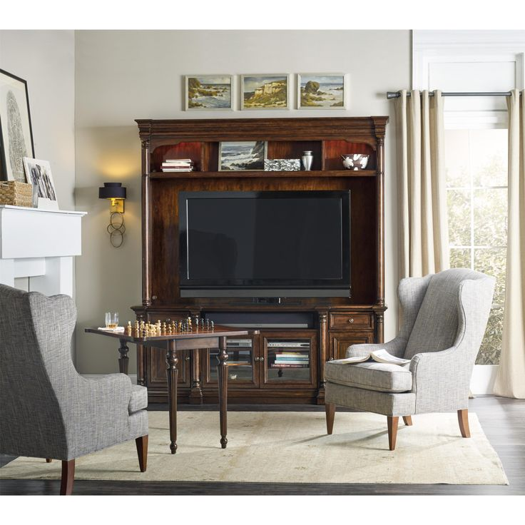 Shop For The Hooker Furniture Leesburg Two Piece Entertainment Group At  Mooreu0027s Home Furnishings   Your Kerrville, Fredericksburg, Boerne, And San  Antonio, ...