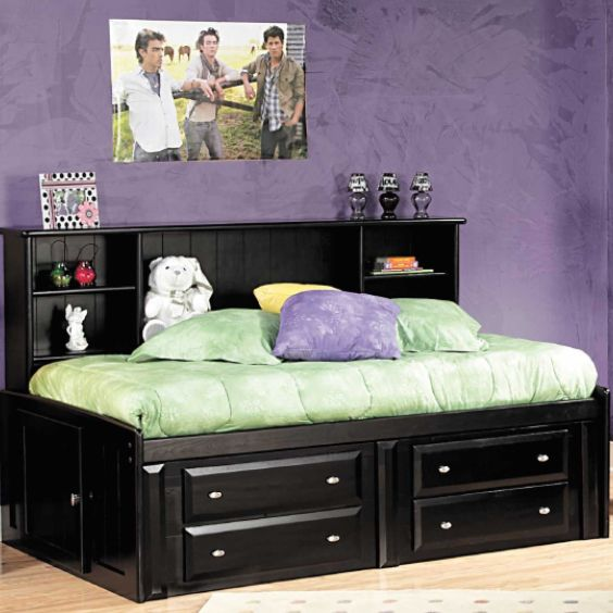 laguna twin roomsaver bed with underbed storage by trendwood usa is now available at american furniture warehouse
