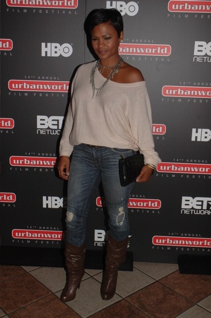 Nia Long by AroundHarlem.com, via Flickr