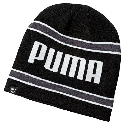 An internal fleece headband in these great value mens stripe pwrwarm golf beanie hats by Puma provides additional warmth and protection!