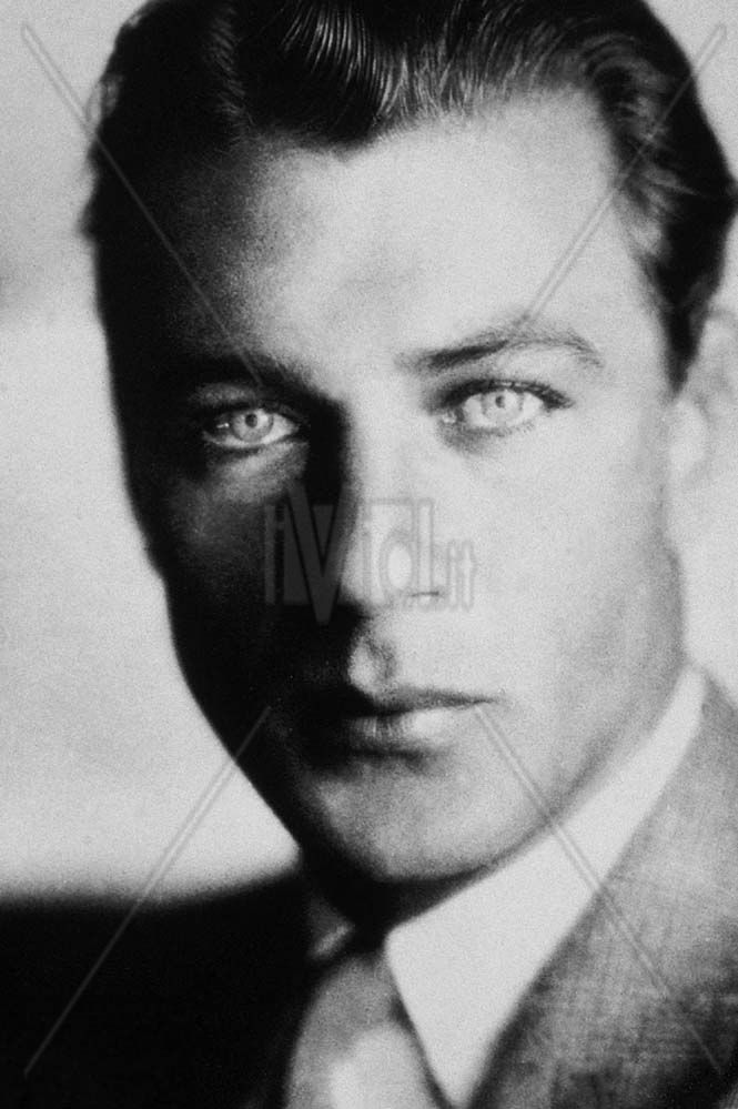 Gary Cooper had pretty eyes, because he had light blue ...