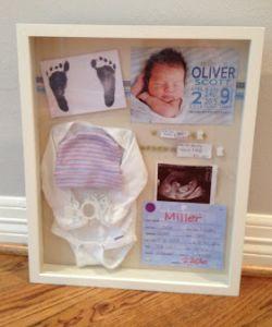 Je baby's eerste kleertjes zijn speciaal, maar het kunnen bijvoorbeeld ook de doopkleertjes zijn. Of misschien de eerste speen, eerste schoentjes of het ge