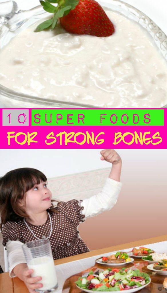 10 Super Foods for Strong Bones #strongbones