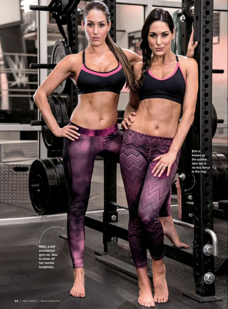 bella twins muscle and fitness hers - Google Search