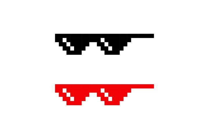 Pixel Glasses Icon In Black Vector Eps 10 963225 Icons Design Bundles In 2021 Icon Design Eps Pixel