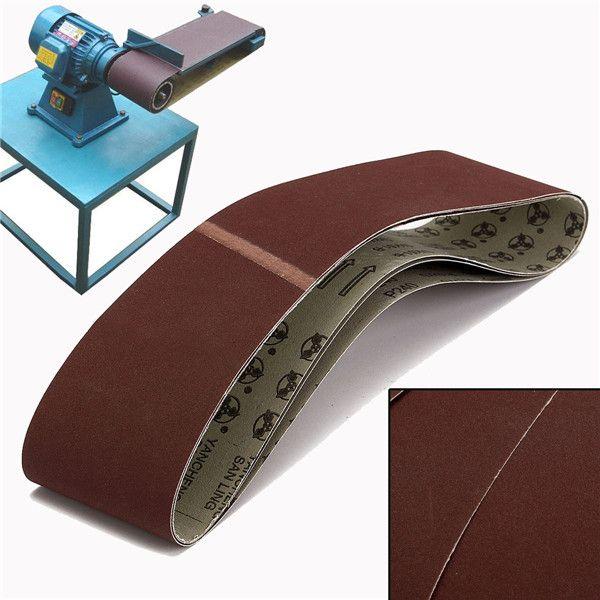 3pcs 915x100mm 240 Grit Sanding Belts Abrasive Tools Metal Working Tools Belt