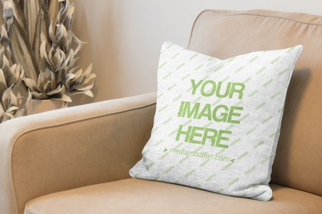 Make your own pillow design. Upload