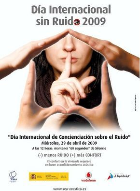 contaminación aústica : día internacional sin ruido 2009