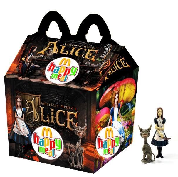 """American McGee's Alice"" Happy Meal"
