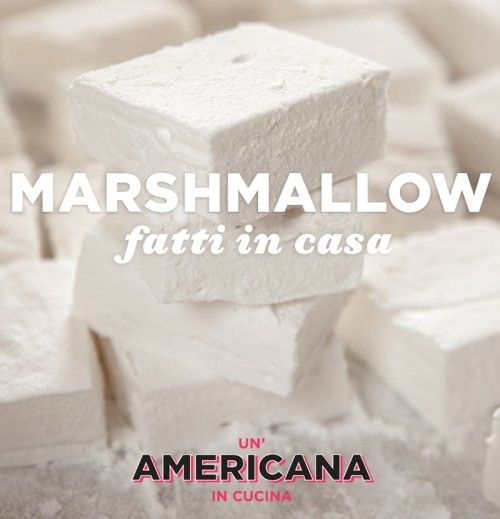 """Questa è una """"prima volta"""", per me. Sapevo che, tecnicamente, ero in grado di fare i marshmallows in casa, ma non credevo ne valesse la pena. Ho sempre immaginato una preparazione lunga e caotica, ..."""