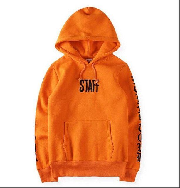 New Hip Hop Orange Purpose Tour Hoodies