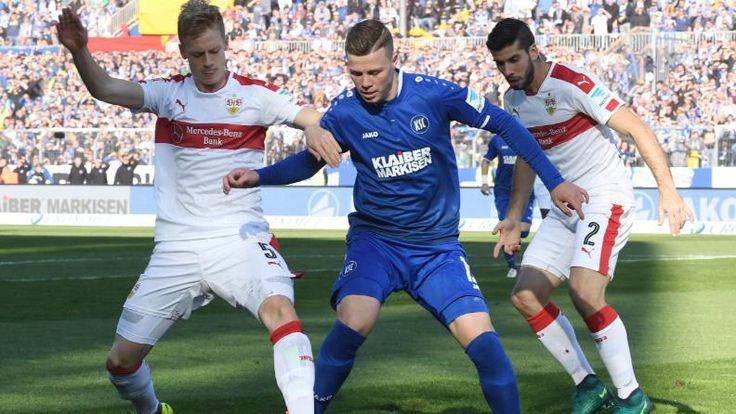 Karlsruhe – Stuttgart 1:3 | Rauch-Tor von Terodde - Bundesliga - Bild.de