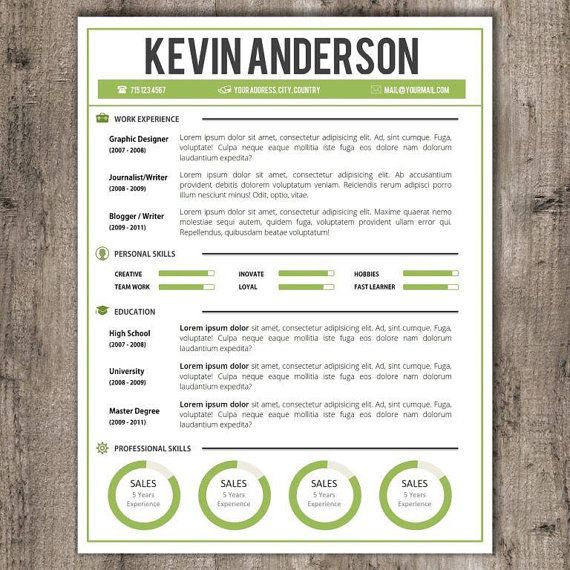 32 best CV   Resume Templates in MS Word images on Pinterest - ms word resume templates