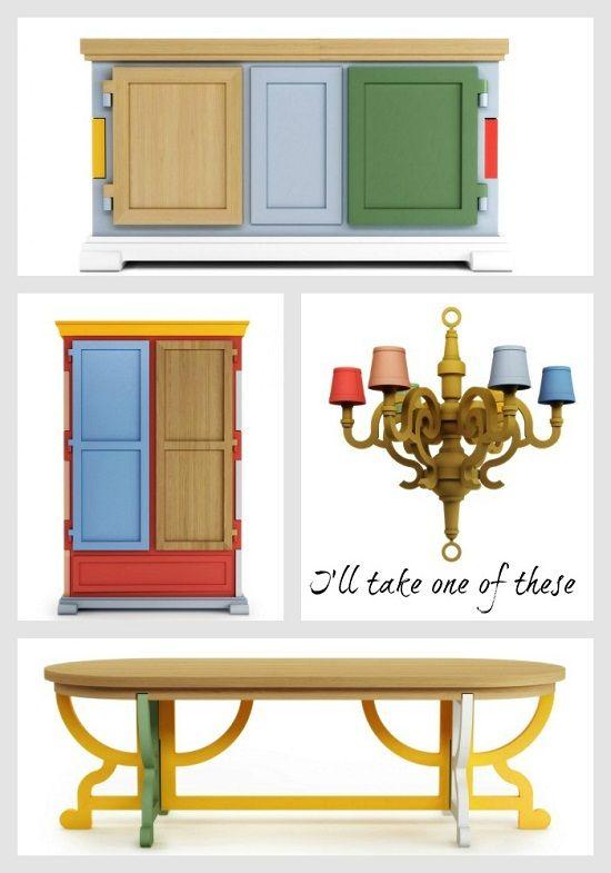 moooi paper cupboard patchwork light table desk wardrobe[2]