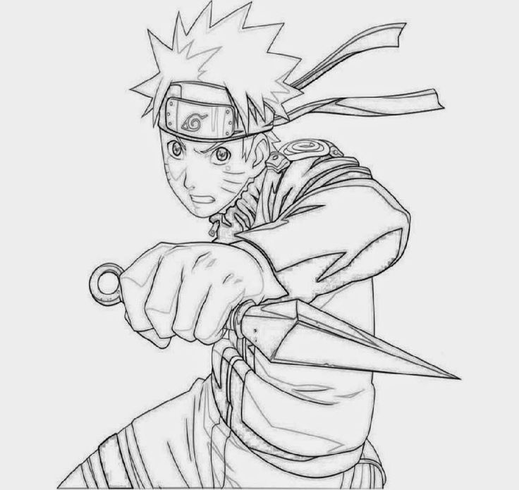 All Naruto Characters Coloring Pages in 2020 | Naruto ...
