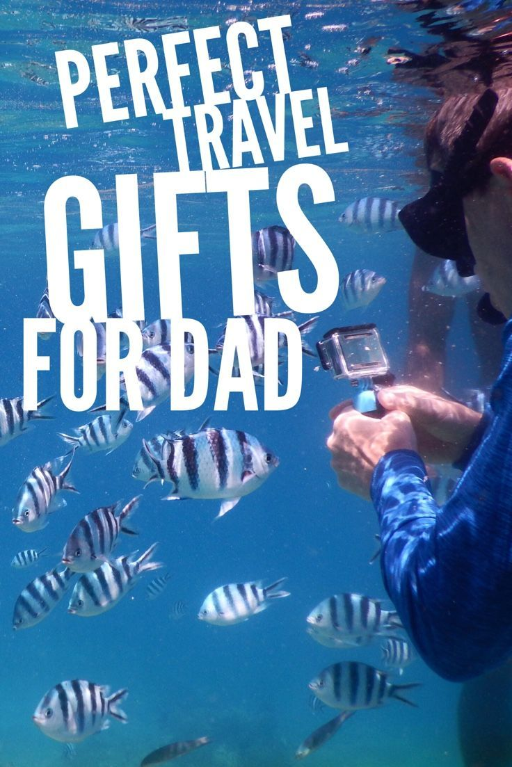 Best gifts for a Dad who travels. Perfect for Fathers Day, birthday and special holidays.: