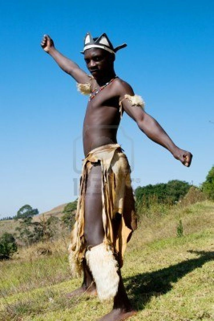 African Tribal Clothing Men