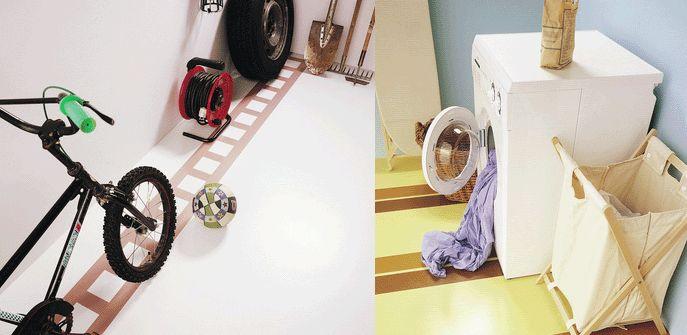 Maling af betongulv: Gulvet skal være rent og tørt, inden du maler. Når kældergulvet skal males, starter du med fugtprøven: Læg en plastpose på gulvet og sæt tape rundt i alle kanter. Lad det ligge i 3-4 døgn. Er gulvet mørkere under posen, er der fugt i gulvet - og du bør finde ud af hvorfor. Du må ikke male på et gulv der indeholder fugt, malingen kan ikke hæfte ordenligt og skaller af, hvis der er fugt i gulvet.