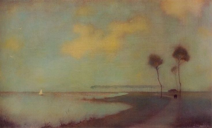 Dutch painter Jan Mankes via The Twirling Dragon blog