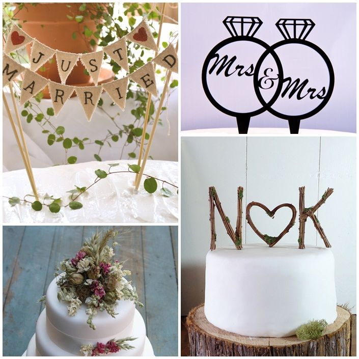 Wedding Cake Toppers: Book de ideas con mucho estilo