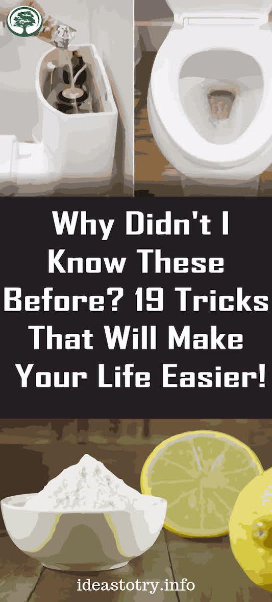 Warum wusste ich das vorher nicht? 19 Tricks, die dir das Leben leichter machen! – CLEANING