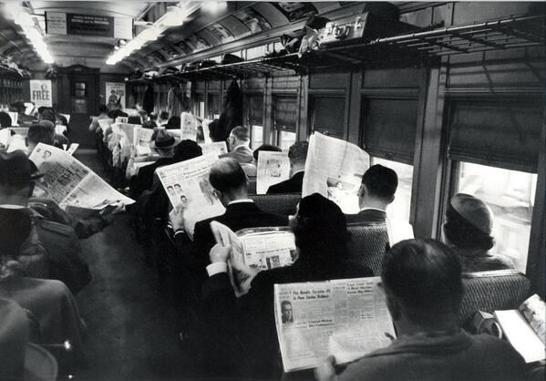 So so, die neuen Technologiem machen uns also asozial ... | 'All this technology is making us antisocial'  /via @Andrew Mager Mager Hanelly drueben bei Twitter
