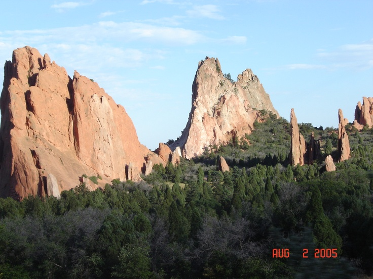 Garden of The Gods - Colorado:  Drop-Off