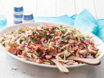 Whether you need a new tasty side or have been asked to bring a plate, these creamy pasta salads are a must have in your recipe book! - A recipe collection from BestRecipes.com.au