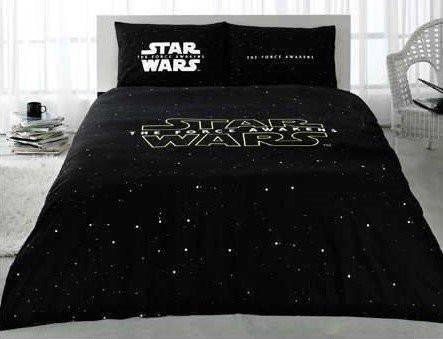 STAR WARS Full Double Queen Size Quilt Duvet Cover Set Bedding