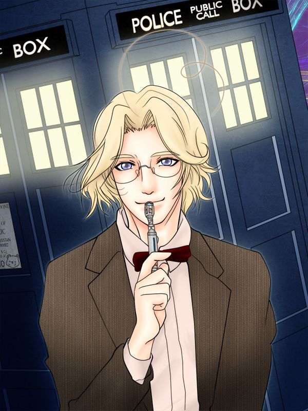 """HETALIA:Doctor Cana...Who? by yasaka-unabara.deviantart.com on @deviantART - Matthew as the Doctor in a crossover between """"Hetalia"""" and """"Doctor Who"""""""