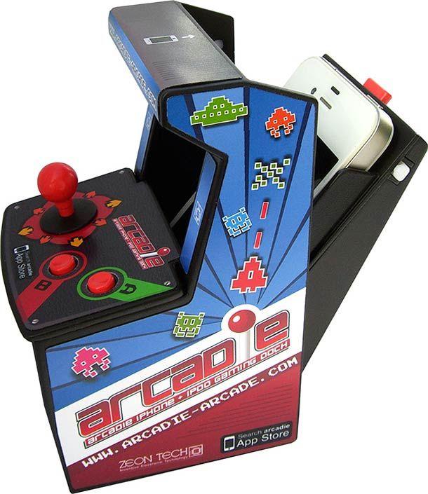 iPhone transformé en borne d'arcade