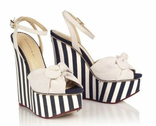 Zeppe Charlotte Olympia P/E 2012: Meridith