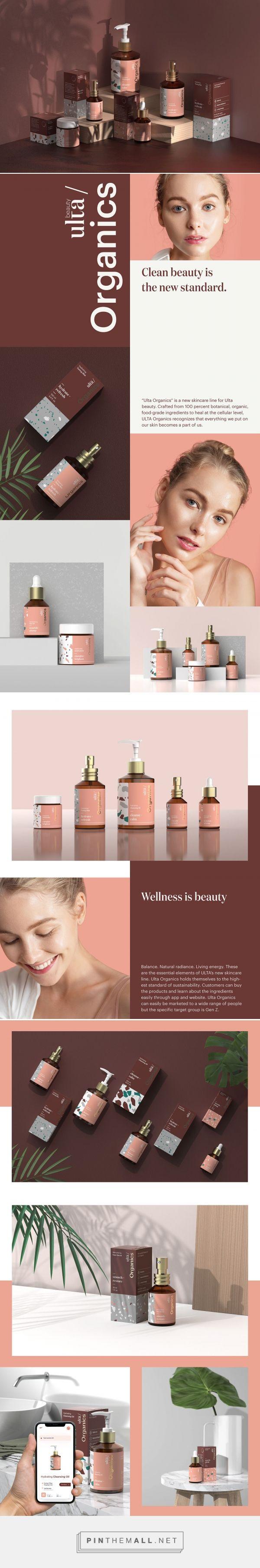 ULTA Organics Skin Care Packaging by Yozei Wu