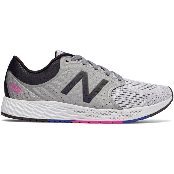 New Balance Fresh Foam Zante v4 Women's Neutral Cushioned Shoes ($100) ❤ liked on Polyvore featuring shoes, athletic shoes, new balance footwear, padded shoes, new balance, cushioned shoes and new balance shoes